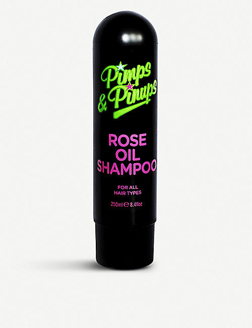 PIMPS AND PINUPS: Rose Oil Shampoo 250ml