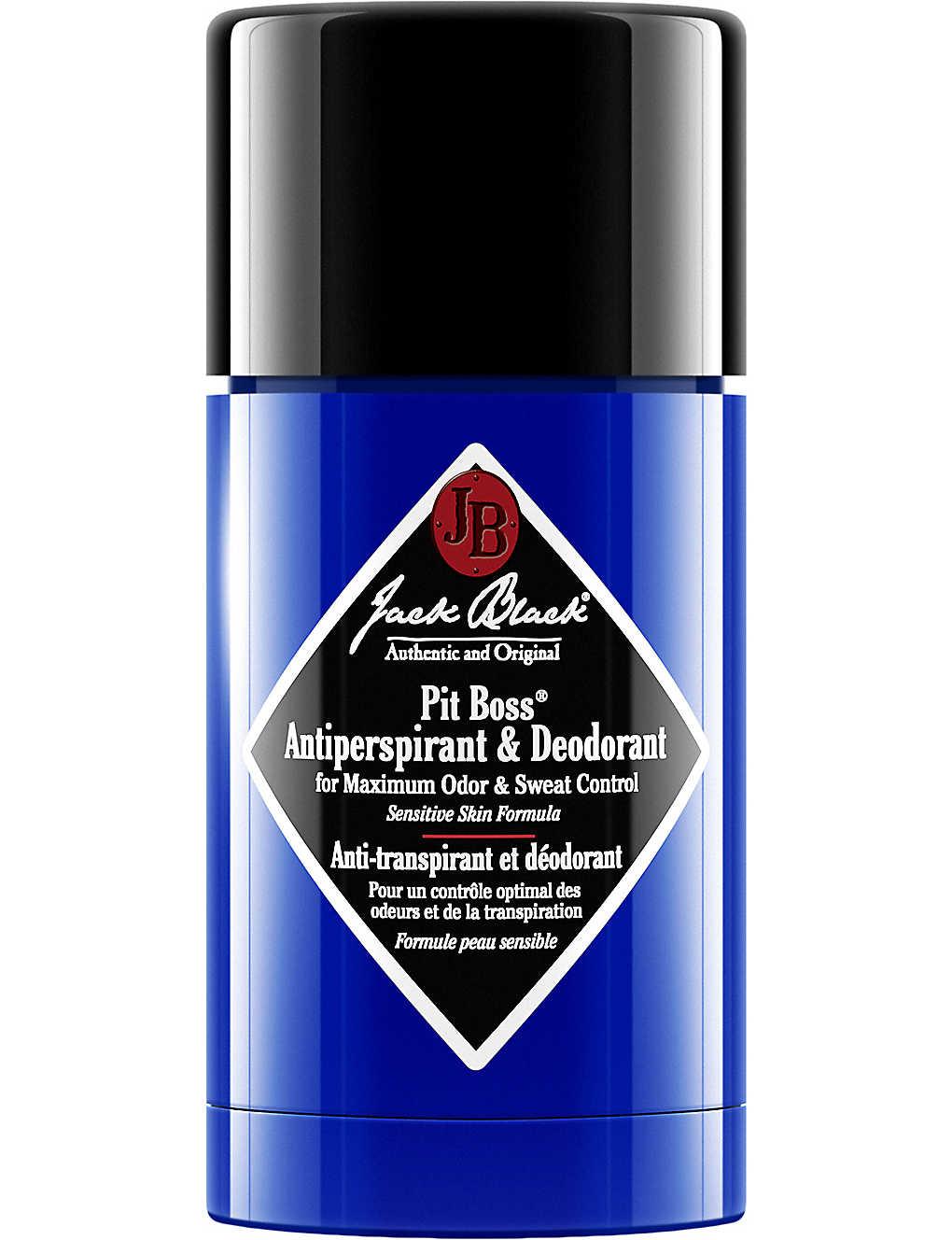 JACK BLACK - Pit Boss Anti-Perspirant Deodorant 78ml   Selfridges com