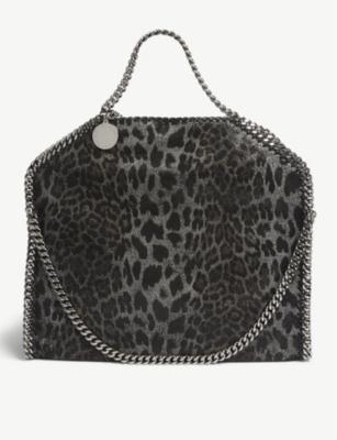 cc08b572a089 STELLA MCCARTNEY - Falabella leopard-print tote bag   Selfridges.com
