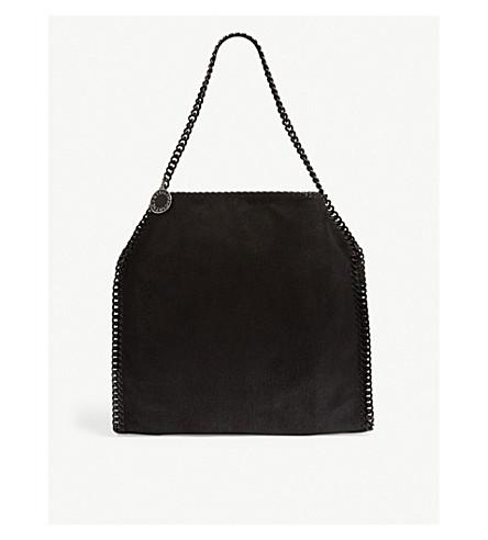... STELLA MCCARTNEY Falabella babybella faux leather tote (Black black.  PreviousNext c38123b96b6de