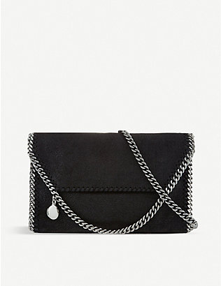 STELLA MCCARTNEY: Falabella mini faux-leather cross-body bag