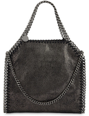 STELLA MCCARTNEY Mini Baby Bella faux-leather shoulder bag