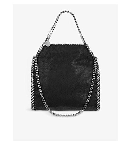 ec6a110166f1 ... STELLA MCCARTNEY Mini Falabella faux-suede tote (Black. PreviousNext