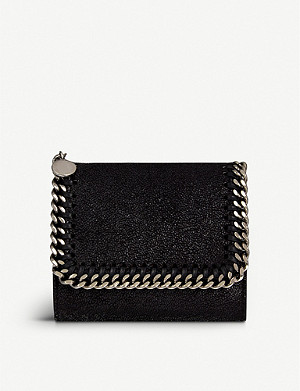 STELLA MCCARTNEY Falabella small continental wallet