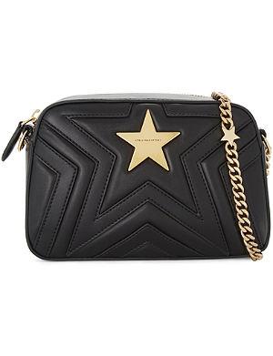 STELLA MCCARTNEY Star faux-leather cross-body camera bag 410cafacb1e57