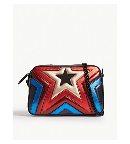 STELLA MCCARTNEY - Rainbow star faux-leather camera bag  09fe3add3d995