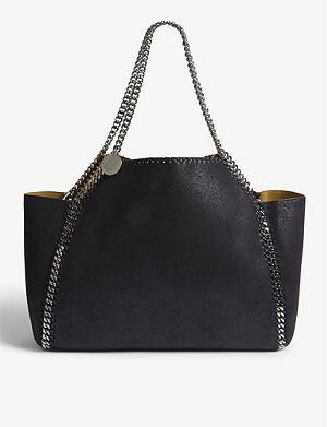 STELLA MCCARTNEY Falabella faux-leather shoulder bag c2219aa889e3c