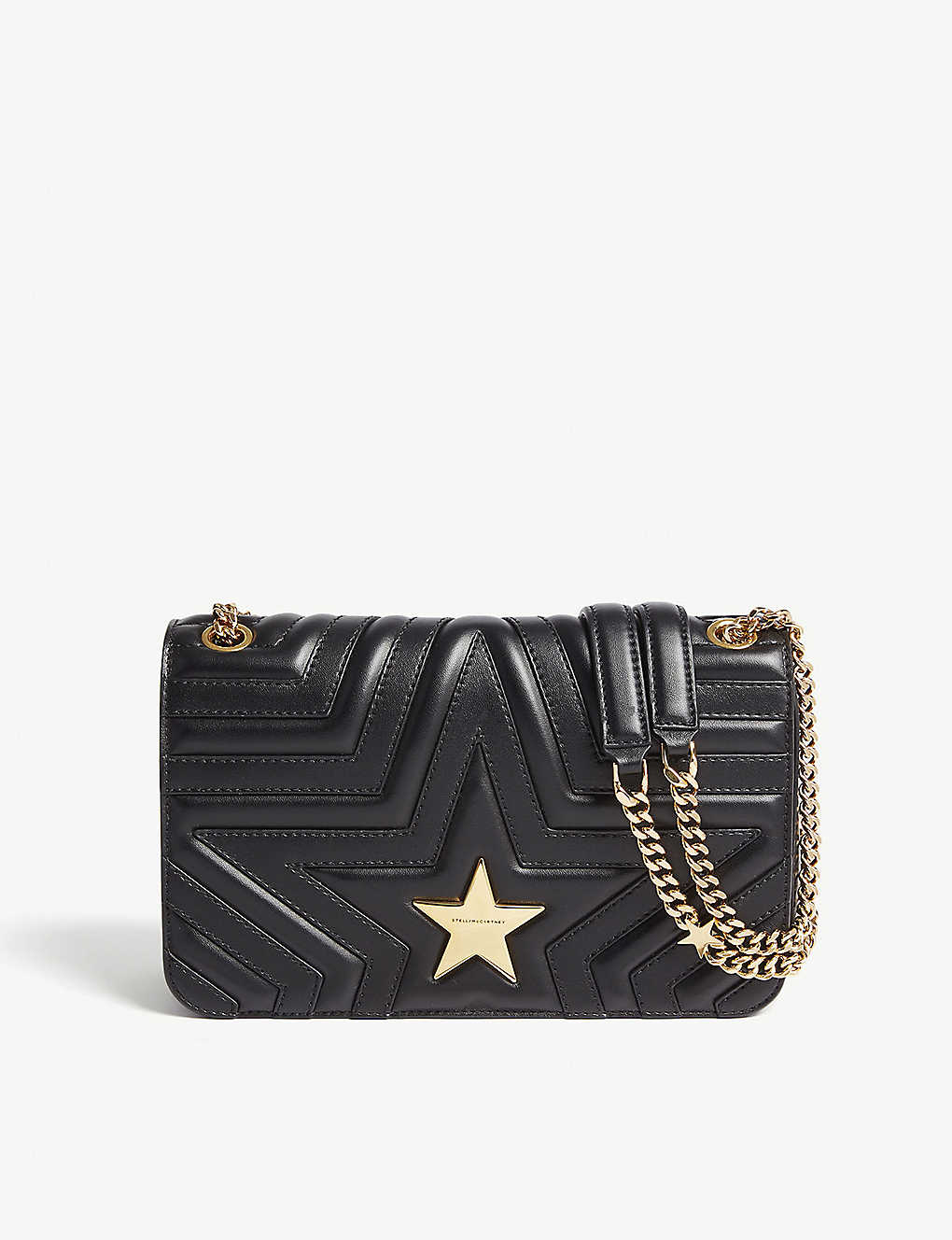 c29b70c52d STELLA MCCARTNEY - Quilted star shoulder bag | Selfridges.com