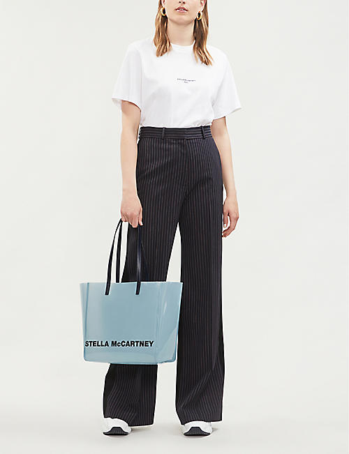 STELLA MCCARTNEY PU tote bag