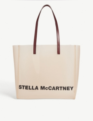 STELLA MCCARTNEY Logo PU tote