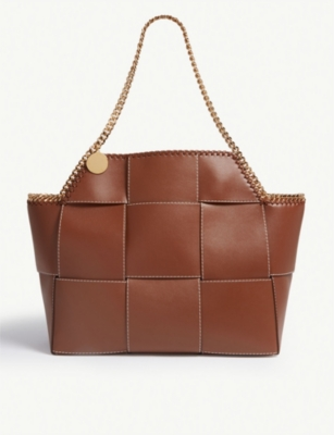 STELLA MCCARTNEY Falabella reversible patchwork tote bag