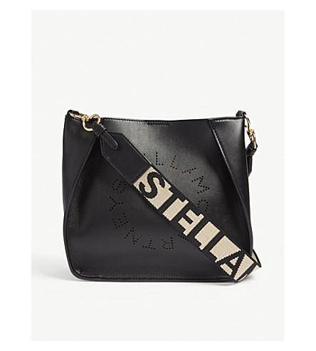 ... STELLA MCCARTNEY Circle logo shoulder bag (Black. PreviousNext 0e154419bfc1f