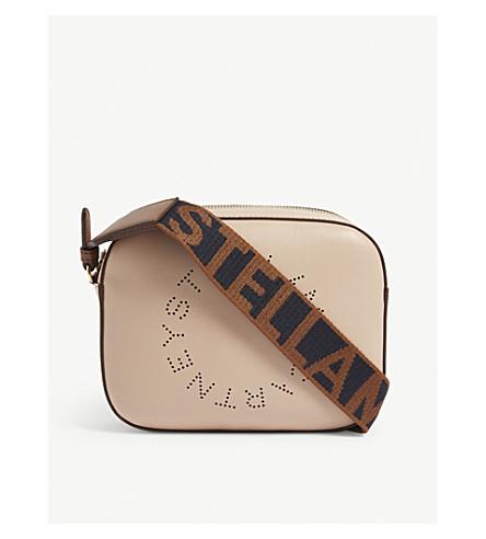 STELLA MCCARTNEY - Logo strap mini camera bag  ce4287f5d915e