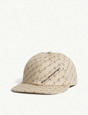 STELLA MCCARTNEY Logo organic cotton cap