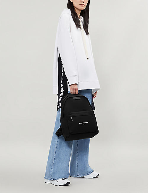 STELLA MCCARTNEY Falabella logo-print nylon backpack