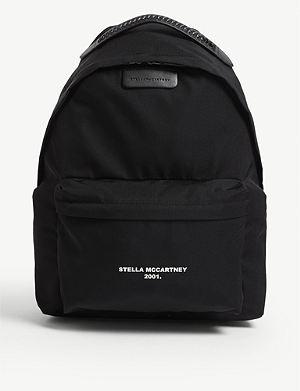 STELLA MCCARTNEY Falabella logo-print nylon backpack 7296b5b7f632f