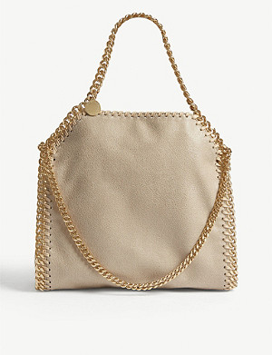 STELLA MCCARTNEY Falabella Shaggy Deer mini tote bag