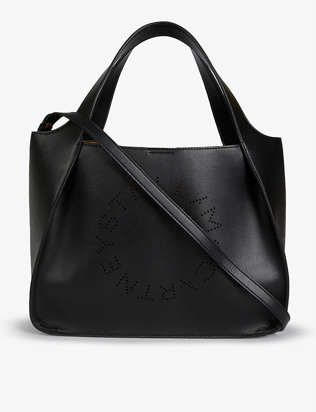 STELLA MCCARTNEY: Circle logo faux leather shoulder bag