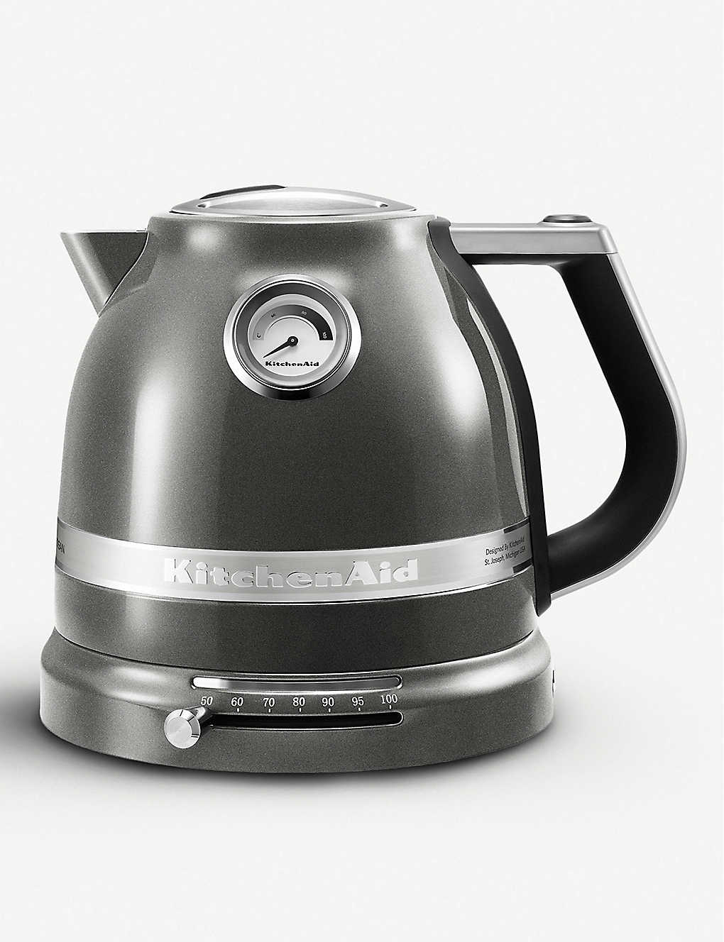 KITCHENAID Silver Artisan kettle