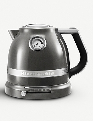 KITCHENAID Silver Artisan kettle