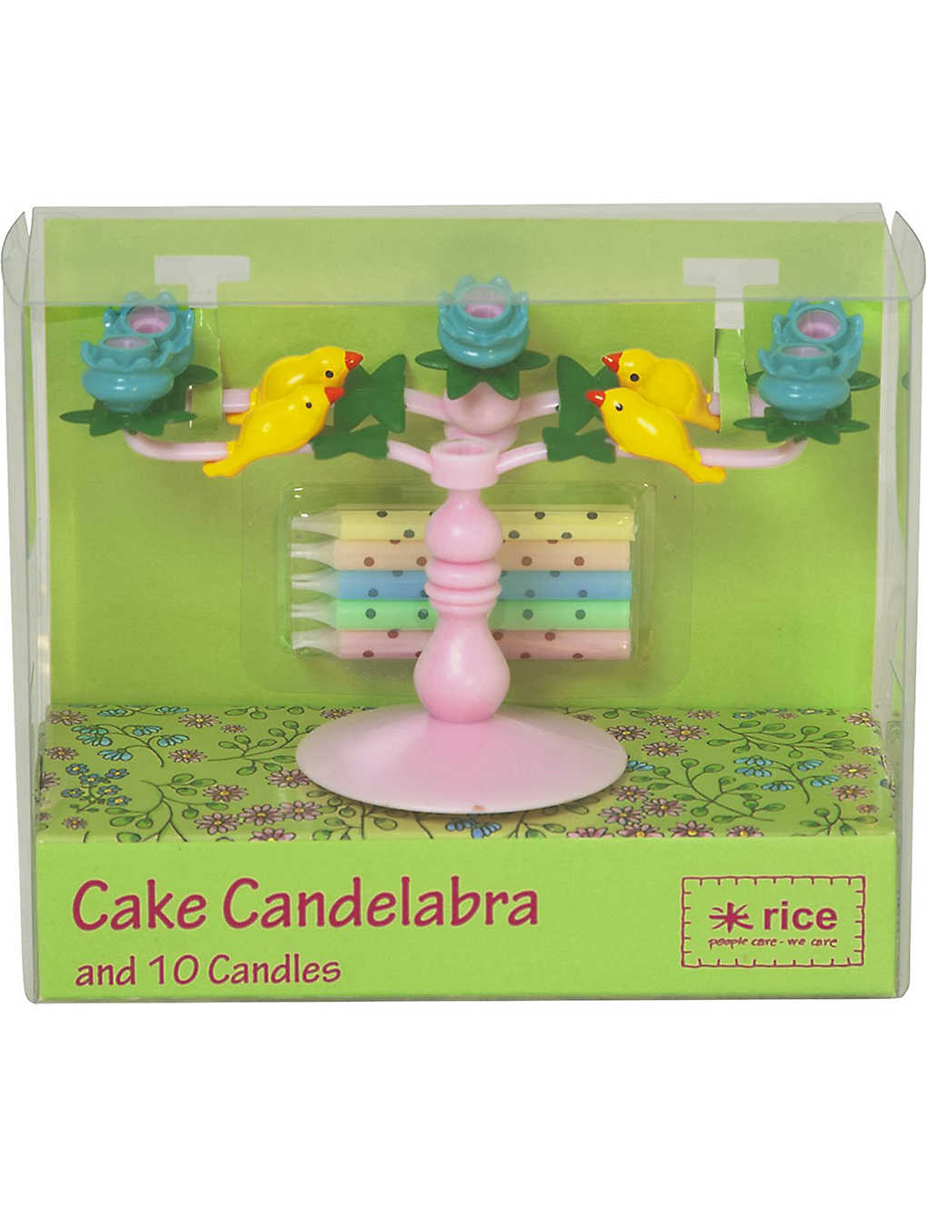 Cake Candelabra With 10 Candles