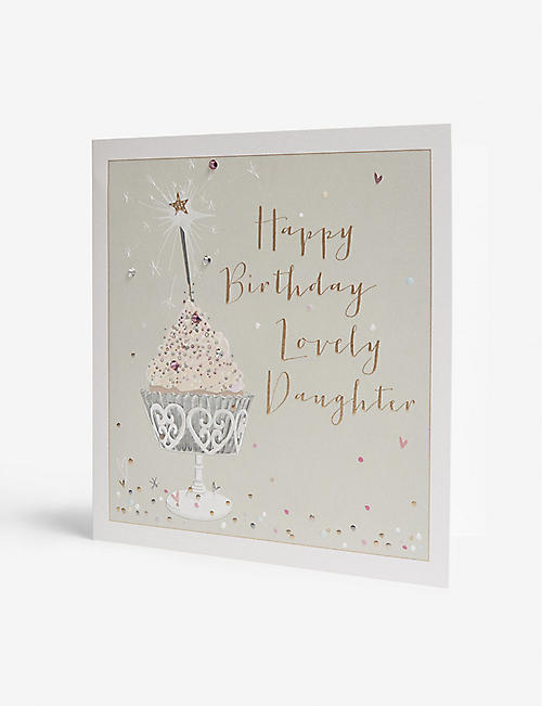 BELLY BUTTON DESIGNS Lovely Daughter birthday card