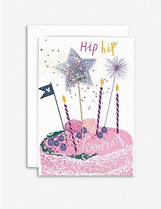HOTCH POTCH: Cake Toppers greeting card 15x10cm