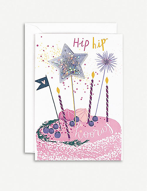 HOTCH POTCH Cake Toppers greeting card 15x10cm