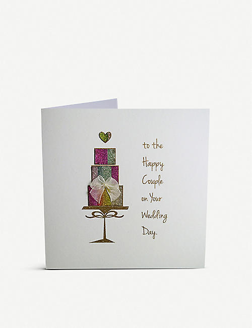 FIVE DOLLAR SHAKE To the Happy Couple greetings card 16cm