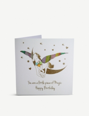 FIVE DOLLAR SHAKE Little Piece of Magic greetings card 16cm x 16cm