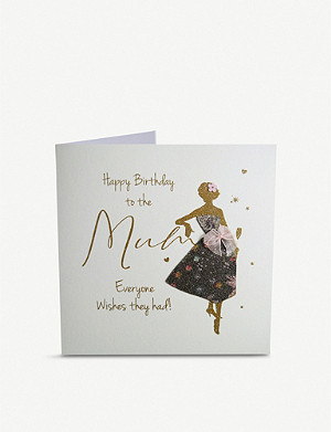 FIVE DOLLAR SHAKE To the Mum Everyone Wishes They Had glitter birthday greetings card 16cm x 16cm