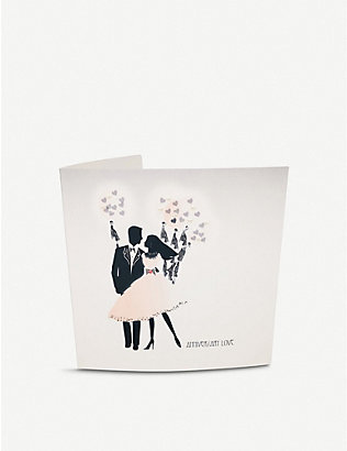 FIVE DOLLAR SHAKE: Anniversary Love greetings card
