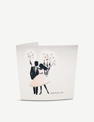 FIVE DOLLAR SHAKE Anniversary Love greetings card