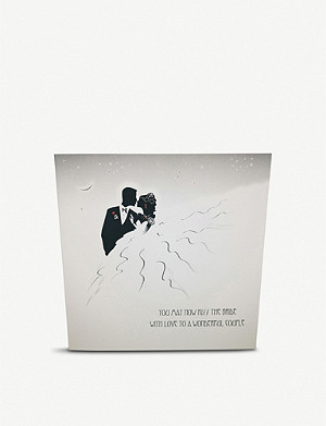FIVE DOLLAR SHAKE You May Now Kiss The Bride greeting card