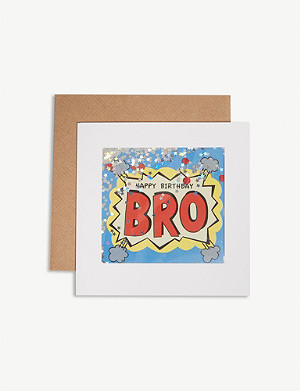 JAMES ELLIS Birthday card