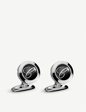 CHOPARD Classic C stainless steel cufflinks