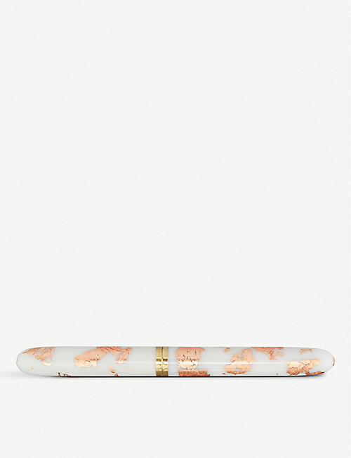 TOMS STUDIO Rose-gold and marble corian studio pen
