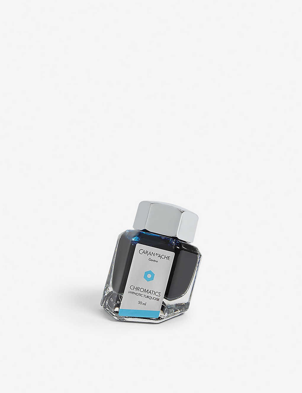 CARAN D'ACHE: Chromatics Hypnotic Turquoise ink bottle 50ml