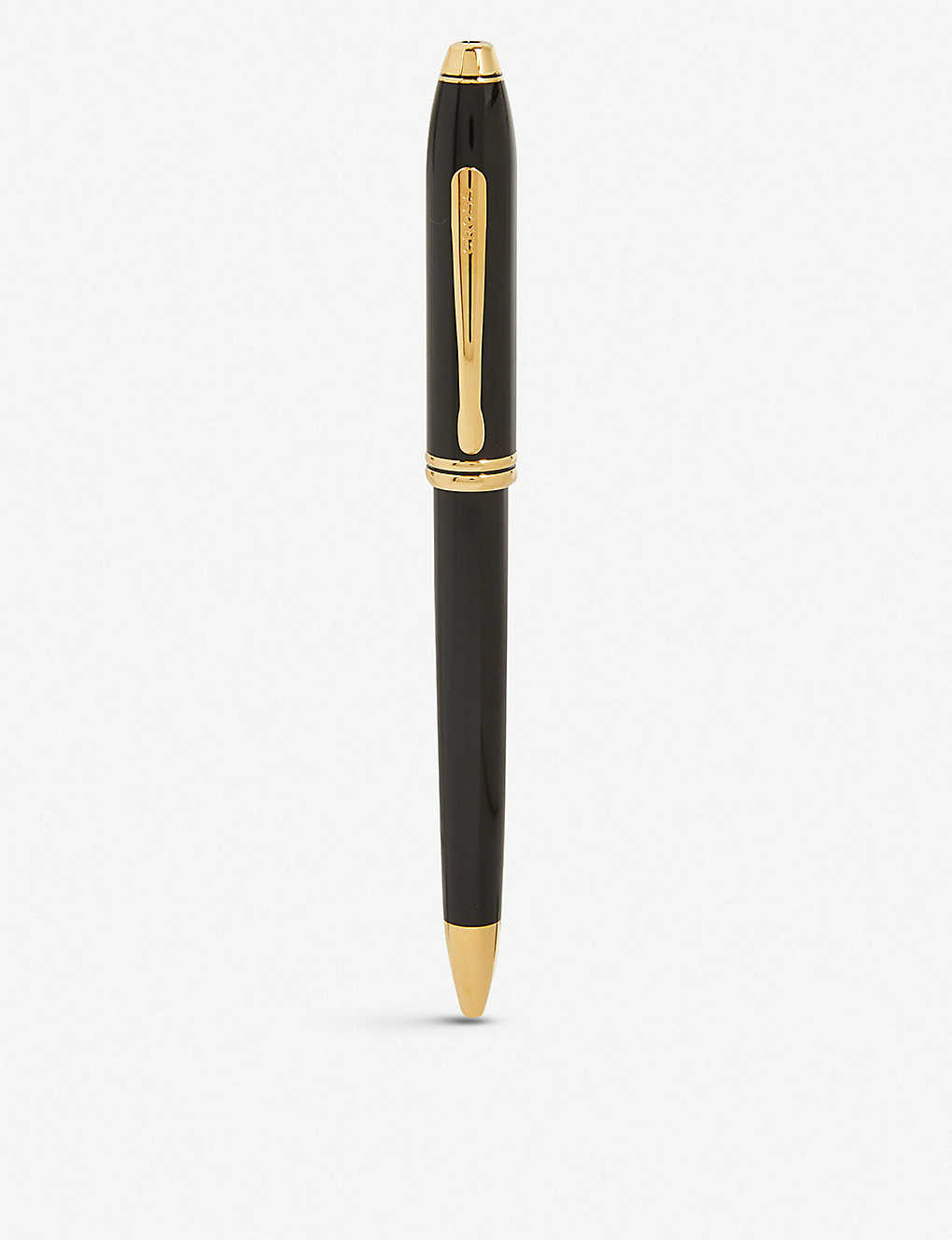 CROSS: Townsend polished black lacquer ballpoint pen