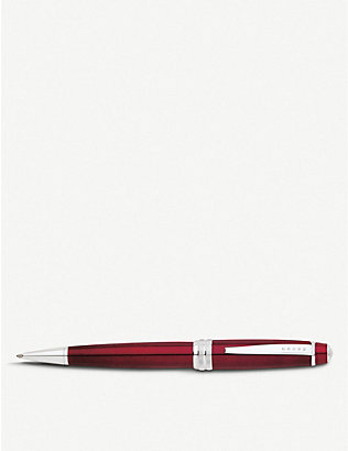 CROSS: Bailey lacquer and chrome-plated ballpoint pen
