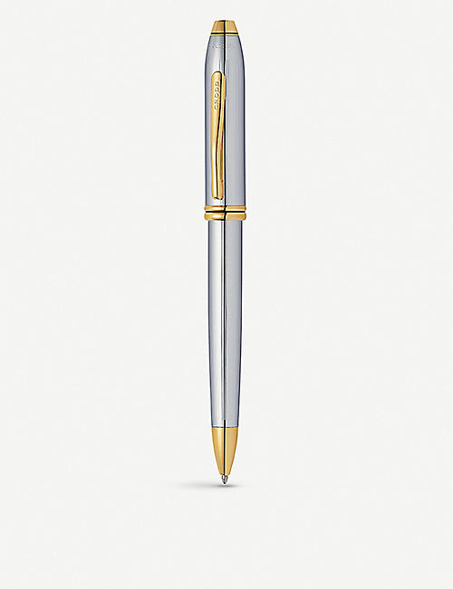 CROSS Townsend Medalist gold-plated ballpoint pen