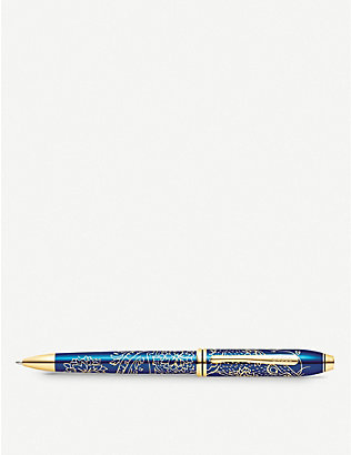 CROSS: Townsend 2020 Year of the Rat lacquer gold-plated ballpoint pen