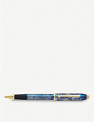 CROSS: Townsend 2020 Year of the Rat lacquer gold-plated rollerball pen