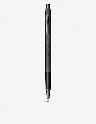 CROSS: Century Classic brushed black PVD rollerball pen