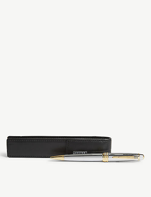 CROSS Bailey Medalist ballpoint pen pouch set