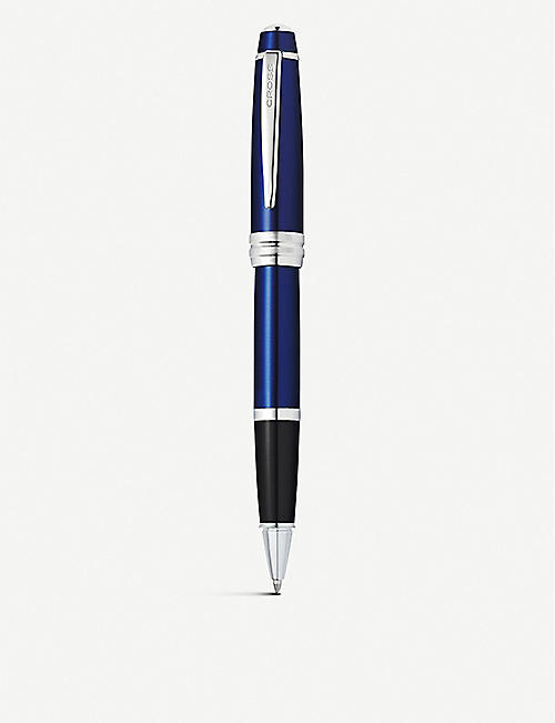 CROSS: Bailey blue lacquered rollerball pen
