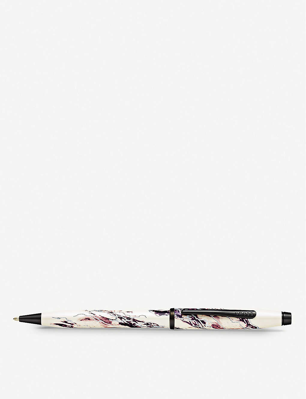 CROSS: Everest marbled lacquer and chrome-plated ballpoint pen