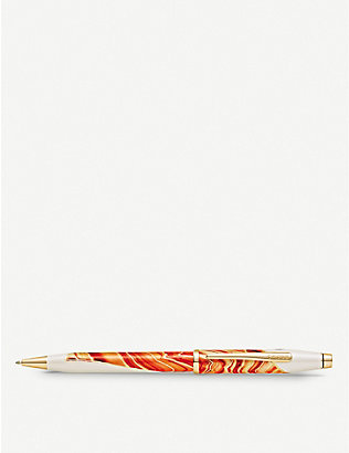 CROSS: Antelope Canyon marbled lacquer and gold-plated ballpoint pen