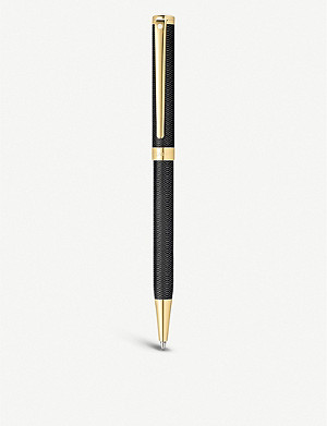 SHEAFFER Intensity black and gold ballpoint pen