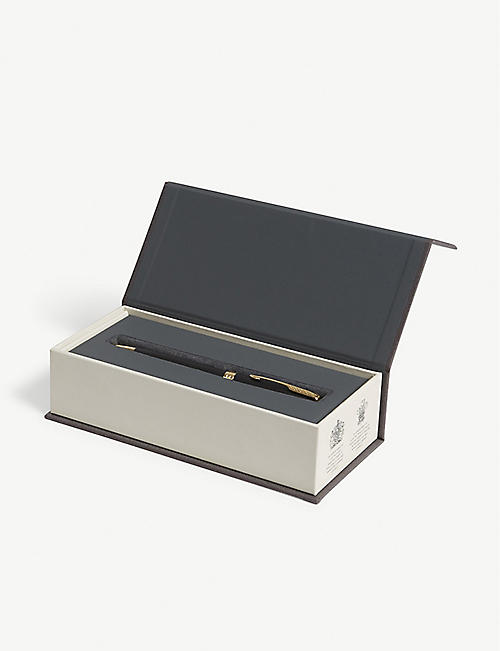 PARKER Sonnet matt black gold trim rollerball pen